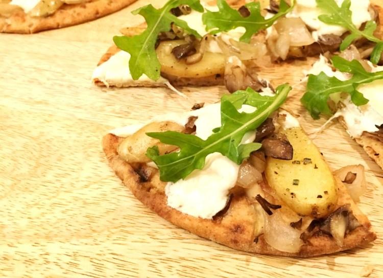 Sun Basket Food Delivery Review Potato Pizza