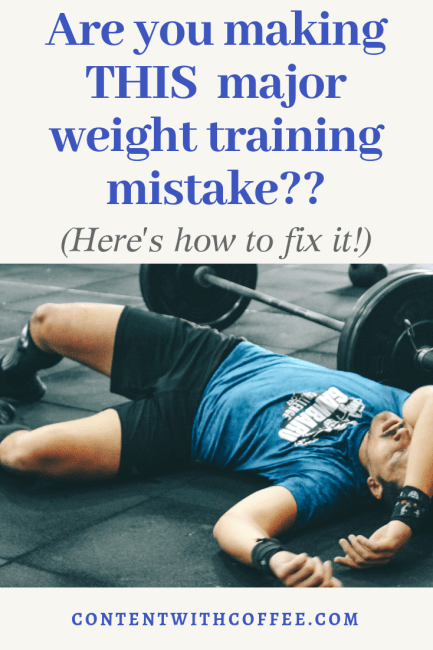 Weight Training Mistake