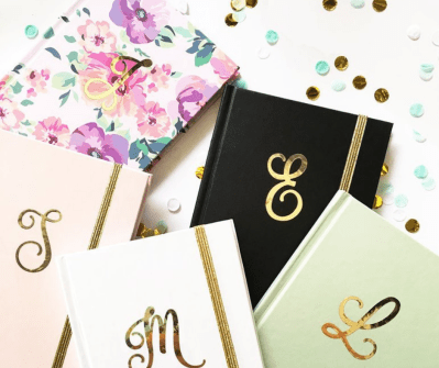 ModParty Customized Monogrammed Journal