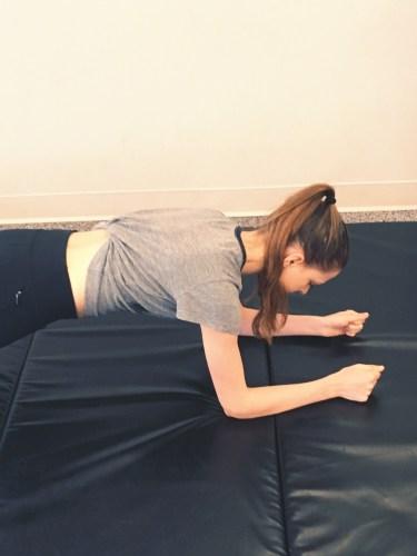 Plank correct form