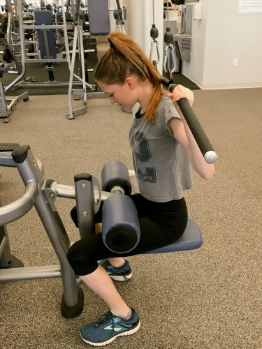 Common exercise mistakes: lat pulldown behind head