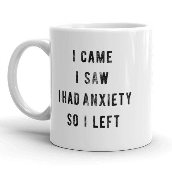 Social Anxiety Mug