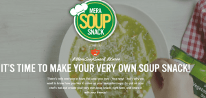 India Food Networks Knorr Mera Soup Snack Contest