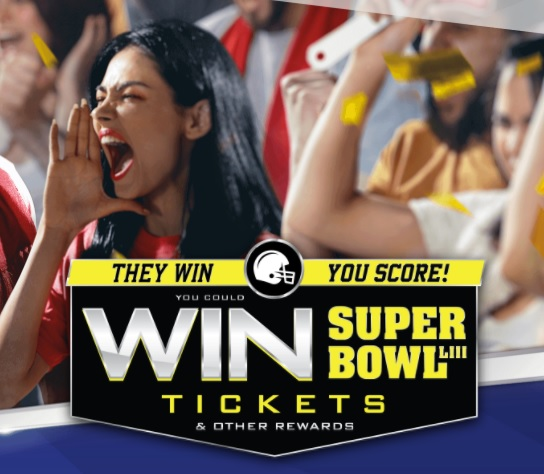 Chance To Win A Trip To Atlanta GA for Super Bowl LIII Tickets