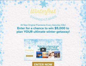 Hallmark Channel WinterFest Sweepstakes