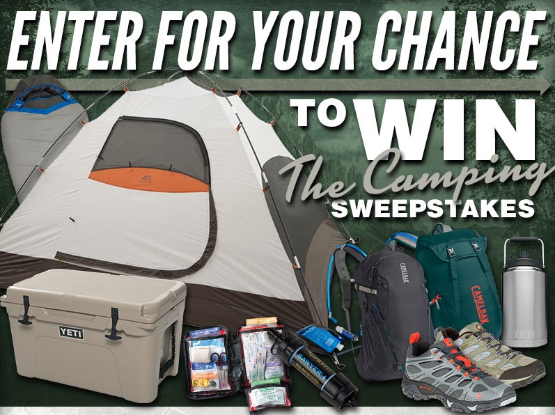 MidwayUSA Spring Camping Sweepstakes - Win Spring Camping