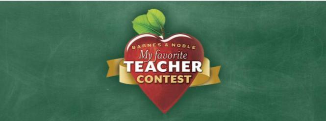 teacher barnes certificate favorite noble contest win contestbig many gift