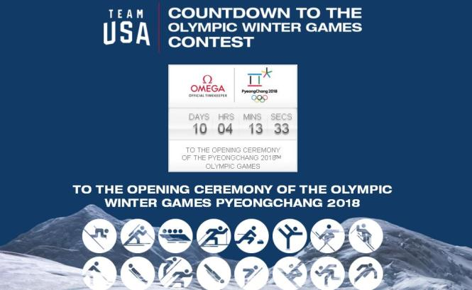 Countdown To The Olympic Winter Games Contest – Stand Chance To Win Daily Instant Prize Award