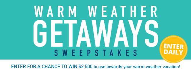 Midwest Living - Warm Weather Getaway Sweepstakes | Enter and Chance to Win $2500 Visa Gift Card