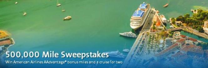 American Airlines 500000 Miles Sweepstakes – Stand Chance To Win 100000 AAdvantage Miles
