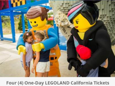 Kids Go Free At LEGOLAND California + Ticket Giveaway – Stand Chance to Win Four One-Day LEGOLAND California Tickets