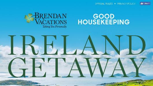 Good Housekeeping Ireland Getaway Sweepstakes – Chance to Win A Six Day Trip to Ireland for Four