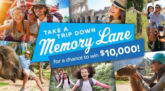 Barclaycard Travel Community Travel Memory Sweepstakes – Chance to Win $10,000