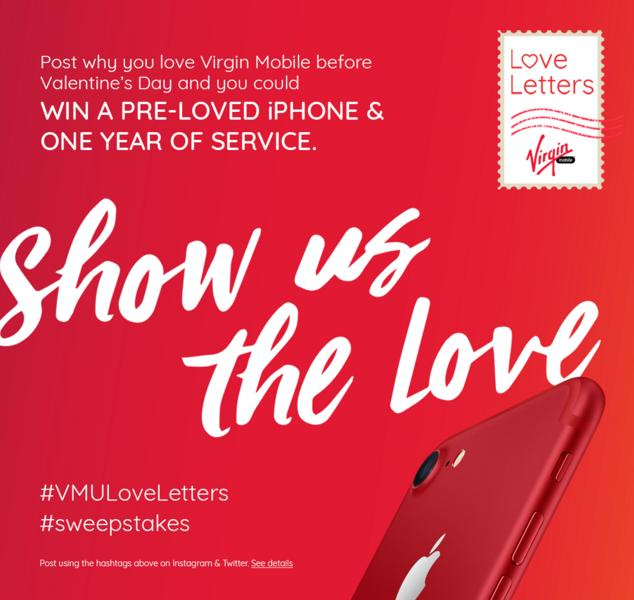 The VMU Love Letters Sweepstakes – Stand Chance to Win an Apple iPhone