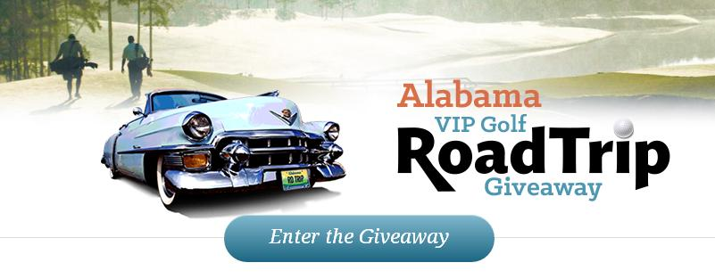 Alabama Tourism Department VIP Golf Road Trip Giveaway – Stand Chance to Win VIP Golf Road Trip