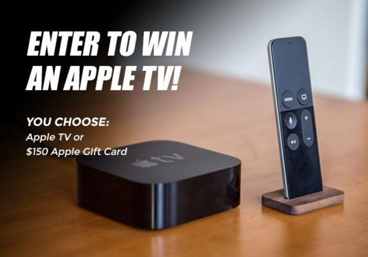 Infinite iCase Apple TV Giveaway – Stand Chance to Win a Apple TV or a $150 Apple Gift Card