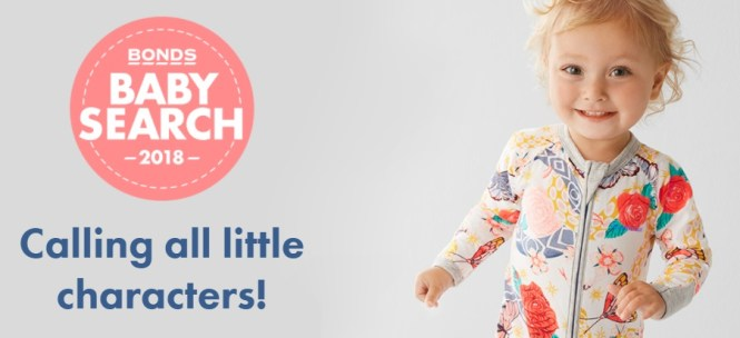 Bonds Baby Search 2018 Competition - Win Many Prizes