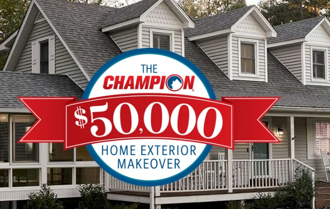 Champion Windows $50,000 Home Makeover Giveaway