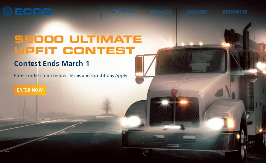 The ECCO Ultimate Upfit Contest – Stand Chance to Win ECCO Safety Solution Package