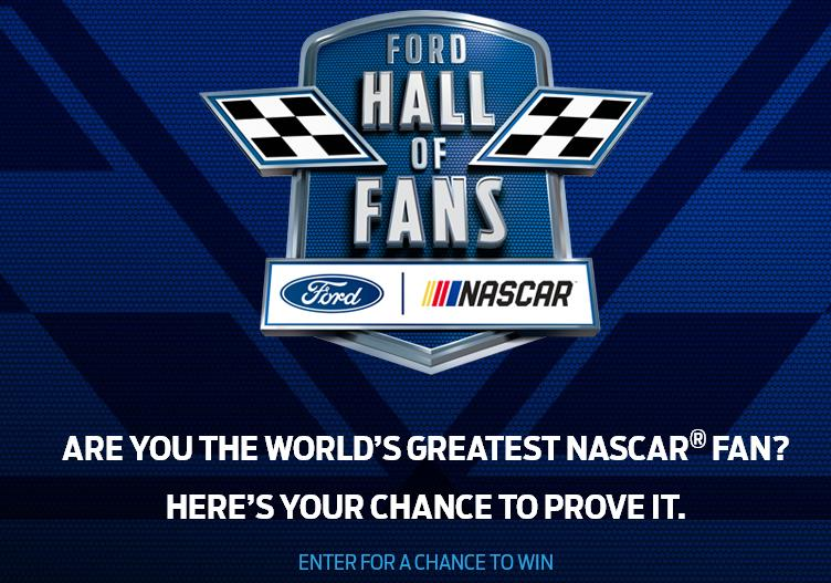 Ford VIP Experience Sweepstakes – Stand Chance to Win a Trip to the Ford EcoBoost 400 Stock Car Race at Homestead-Miami Speedway