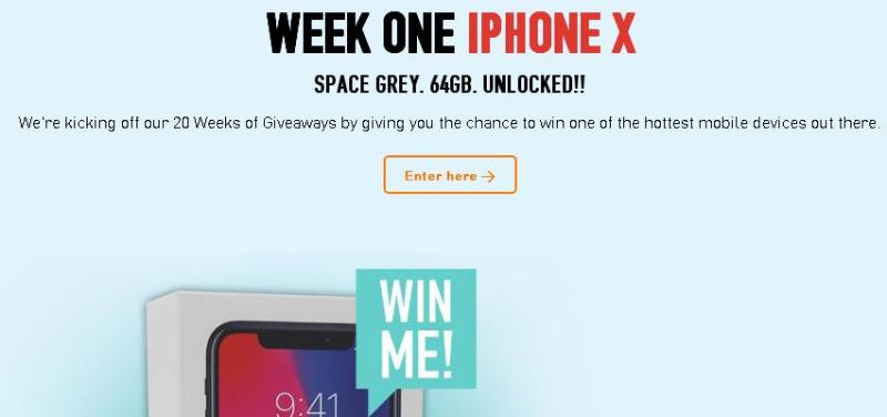 Teksavvy 20 Weeks Of Giveaway – Enter For Chance To Win Apple iPhone X