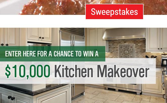 Rosina Recipes Kitchen Makeover Sweepstakes – Stand Chance ...