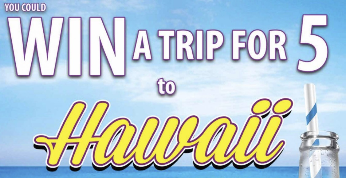 Mineragua Sweepstakes – Enter For Your Chance To Win A Trip For 5 To Hawaii