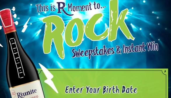 This is R Moment To Rock & Instant Win Game Sweepstakes – Stand Chance to Win Trip To Italy, Tickets, Gift Card