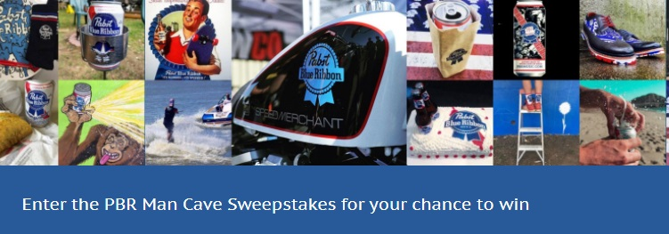 PBR Man Cave Sweepstakes - Enter To Chance to Win PBR Man Cave Value $5000