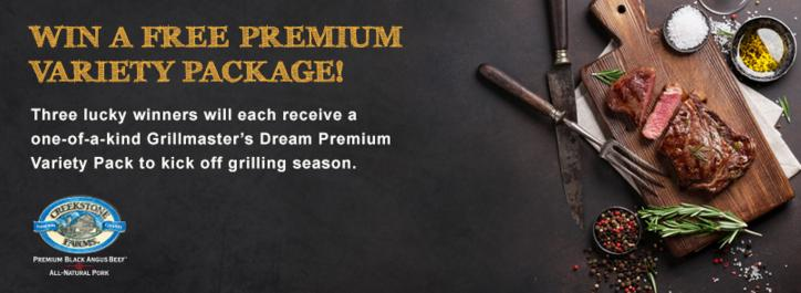 Creekstone Farms Facebook Sweepstakes – Enter For Chance To Win Premium Variety Package