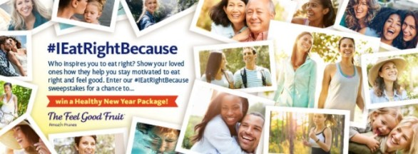 Sunsweet I EatRightBecause Sweepstakes – Chance to Win Monthly a Fitbit and $100 Under Armor Gift Card and Grand Prize $1,500 Cash