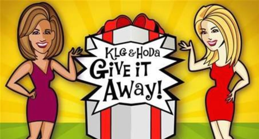 Today Show Kathie Lee & Hoda GiveAway Sweepstakes - Enter To Win A Special Prize