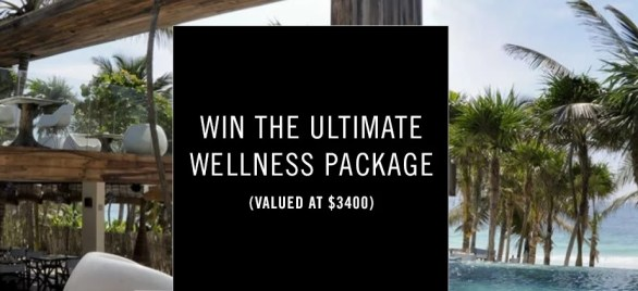Todd Snyder Sweepstakes - entering to win The Ultimate Wellness Package.