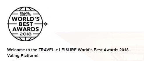 Travel Leisure World's Best Awards 2018 Giveaway - Chance To Win Dream Trip Of $10000
