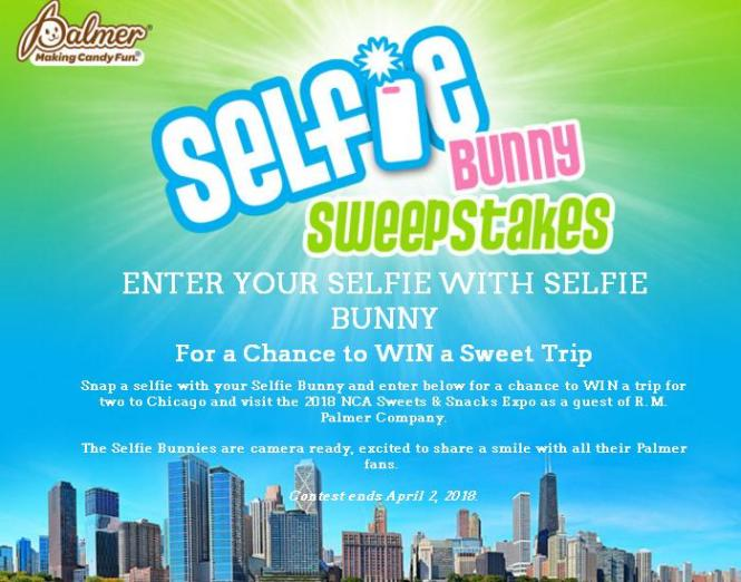 RM Palmer Co. Selfie Bunny Sweepstakes – Stand Chance to Win a trip for two to Chicago