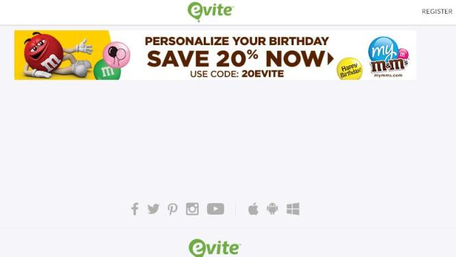 Evite Sweet Birthday Sweepstakes – Stand a Chance to Win $500 in Prizes From My M&M'S