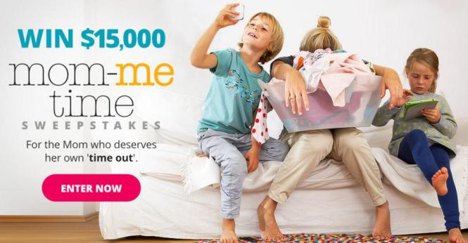 Parents $15,000 Mom-Me-Time Sweepstakes – Stand Chance to Win $15,000