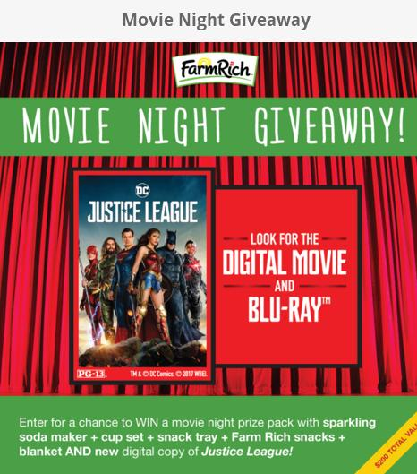 Farm Rich Sweepstakes – Chance To Win Night Movie Pak & Download Digital Movie For 12 Winners