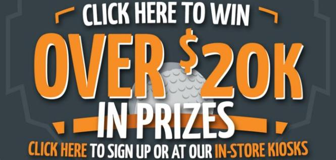 Carl's Golfland Demo Days 2018 Sweepstakes - Chance to Win $20,000