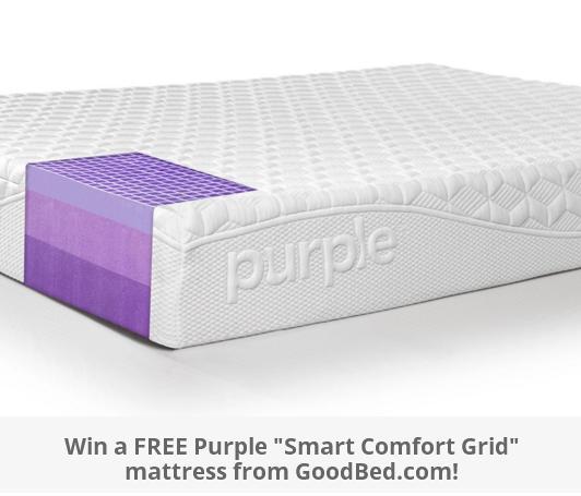 Goodbed.com Purple Mattress Giveaway – Stand Chance to Win a Free Original Purple Mattress