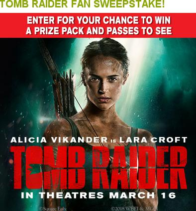 Tomb Raider Fan Sweepstakes – Stand Chance to Win Tomb Raider Superfan Pack