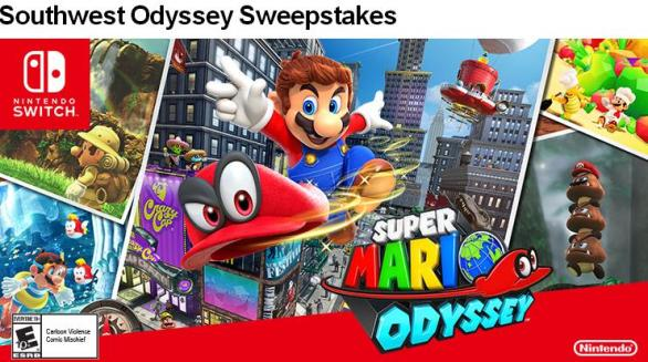 Southwest And Nintendo Super Mario Odyssey Sweepstakes – Stand Chance to Win a Trip for two to Attend the 2018 PBR BFT World Finals in Las Vegas