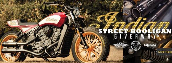 The Buffalo Chip Stampede Bike Giveaway – Stand Chance to Win a 2017 Indian Scout Sixty Motorcycle