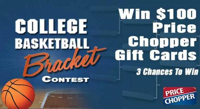 Price Chopper LOCAL College Basketball Contest – Stand Chance to Win $100 Price Chopper Gift Card