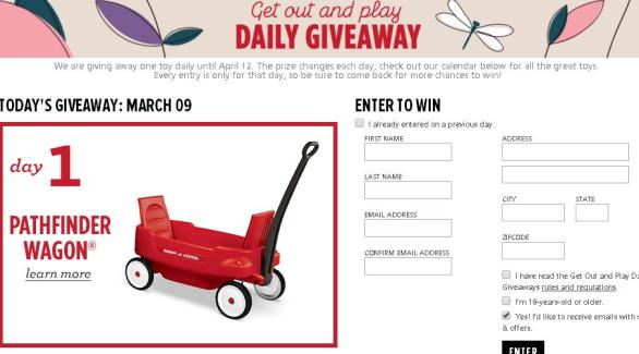 Radio Flyer Get Out And Play Giveaway – Stand Chance to Win a Radio Flyer product