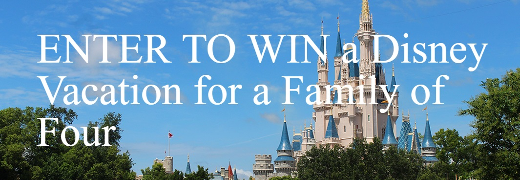 Disney Contest - Chance To Win Disney Vacation For Family of Four valued at $5,000 CDN