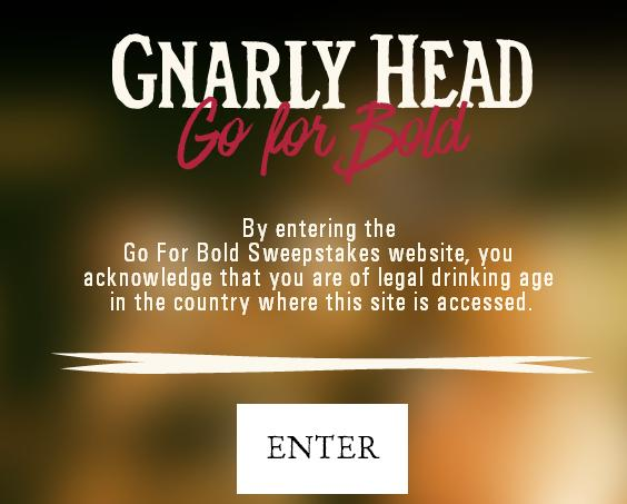 Gnarly Head Go For Bold Sweepstakes - Enter For Chance To Win $500 Gift Card