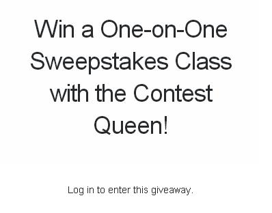 Win a One-on-One Sweepstakes – Stand Chance to Win One Private One-On-One 1-Hour Masterclass Prize