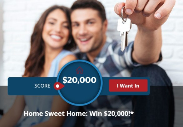 Quicken Loans - Home Sweet Home Promotion - Chance To Win $20,000 Cash