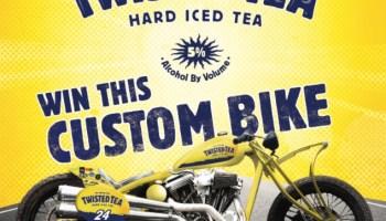 Twisted Tea Bike Upgrade Sweepstakes - Win A Twisted Tea Bike